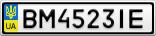 Номерной знак - BM4523IE