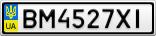 Номерной знак - BM4527XI