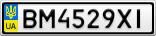 Номерной знак - BM4529XI
