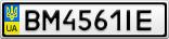 Номерной знак - BM4561IE