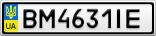 Номерной знак - BM4631IE
