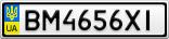Номерной знак - BM4656XI