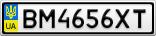 Номерной знак - BM4656XT