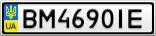 Номерной знак - BM4690IE