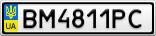 Номерной знак - BM4811PC
