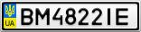 Номерной знак - BM4822IE
