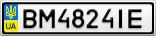 Номерной знак - BM4824IE