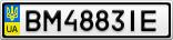 Номерной знак - BM4883IE