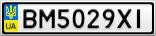 Номерной знак - BM5029XI