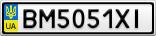 Номерной знак - BM5051XI