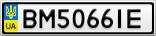 Номерной знак - BM5066IE