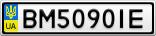 Номерной знак - BM5090IE