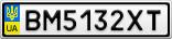 Номерной знак - BM5132XT
