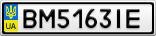 Номерной знак - BM5163IE