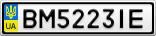 Номерной знак - BM5223IE