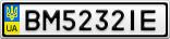 Номерной знак - BM5232IE