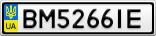 Номерной знак - BM5266IE