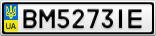 Номерной знак - BM5273IE