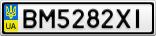 Номерной знак - BM5282XI