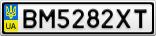 Номерной знак - BM5282XT