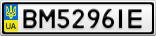 Номерной знак - BM5296IE