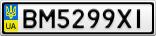 Номерной знак - BM5299XI