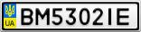 Номерной знак - BM5302IE