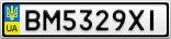 Номерной знак - BM5329XI