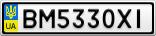 Номерной знак - BM5330XI