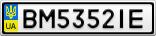 Номерной знак - BM5352IE