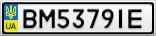 Номерной знак - BM5379IE