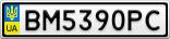 Номерной знак - BM5390PC