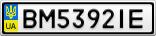 Номерной знак - BM5392IE