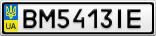 Номерной знак - BM5413IE