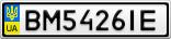 Номерной знак - BM5426IE