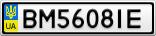 Номерной знак - BM5608IE