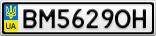 Номерной знак - BM5629OH