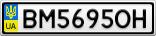 Номерной знак - BM5695OH
