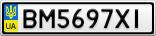Номерной знак - BM5697XI