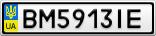 Номерной знак - BM5913IE