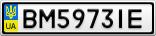 Номерной знак - BM5973IE