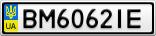 Номерной знак - BM6062IE