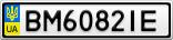 Номерной знак - BM6082IE