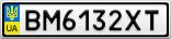 Номерной знак - BM6132XT