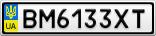 Номерной знак - BM6133XT