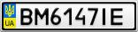 Номерной знак - BM6147IE