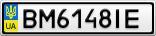 Номерной знак - BM6148IE