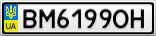 Номерной знак - BM6199OH