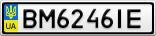 Номерной знак - BM6246IE