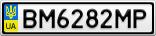 Номерной знак - BM6282MP